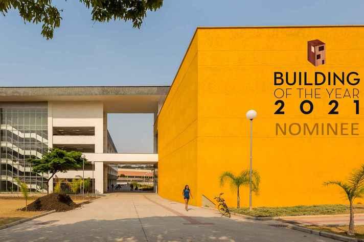 Edifício do CAD 3 abriga salas de aula, auditórios conversíveis e espaços de convivência