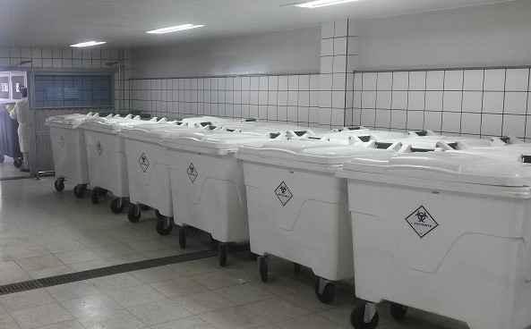Abrigo de Risco Biológico do Hospital das Clínicas