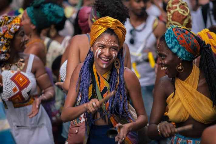 Bloco carnavalesco Angola Janga vai comandar a festa de encerramento no Conservatório UFMG