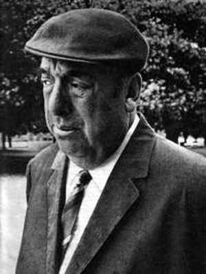 Pablo Neruda, em 1973