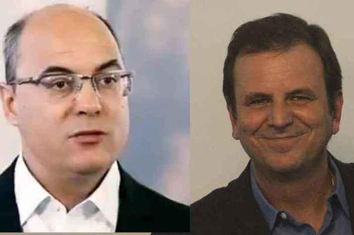 Wilson Witzel (PSC) X Eduardo Paes (DEM): disputa entre nome novo e política tradicional
