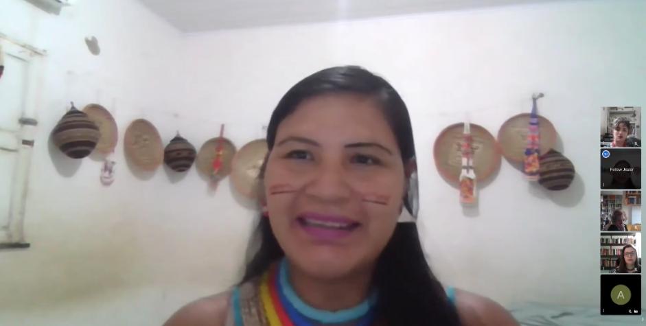 Viviane Cajusuanaima Rocha defendeu sua dissertação de mestrado em maio de 2021