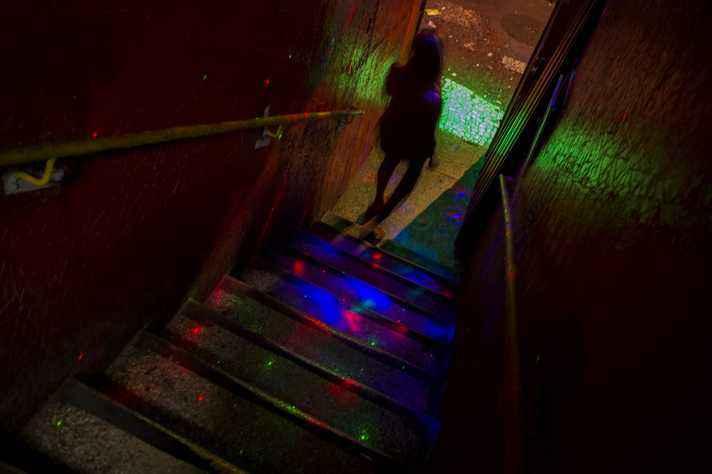 Prostituta em hotel da Rua Guaicurus: foco na saúde integral