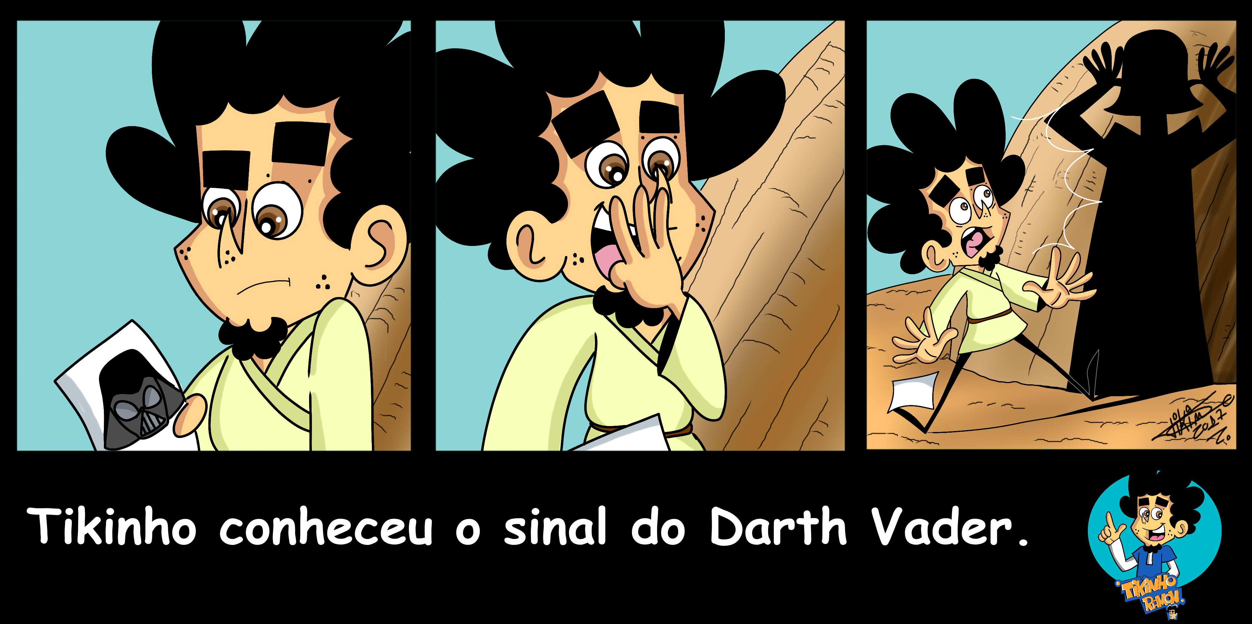 Tikinho é um personagem criado pelo cartunista Lucas Ramon