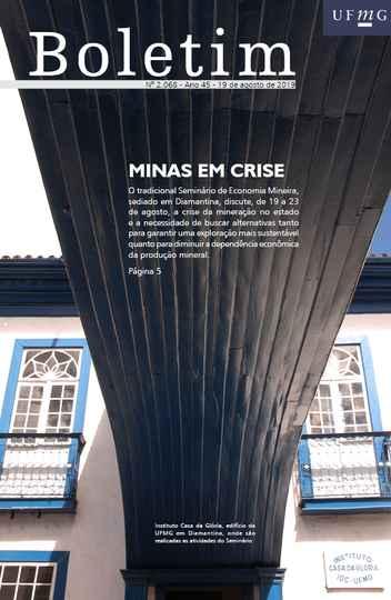 Instituto Casa da Glória estampa a capa da edição 2.068 do Boletim UFMG