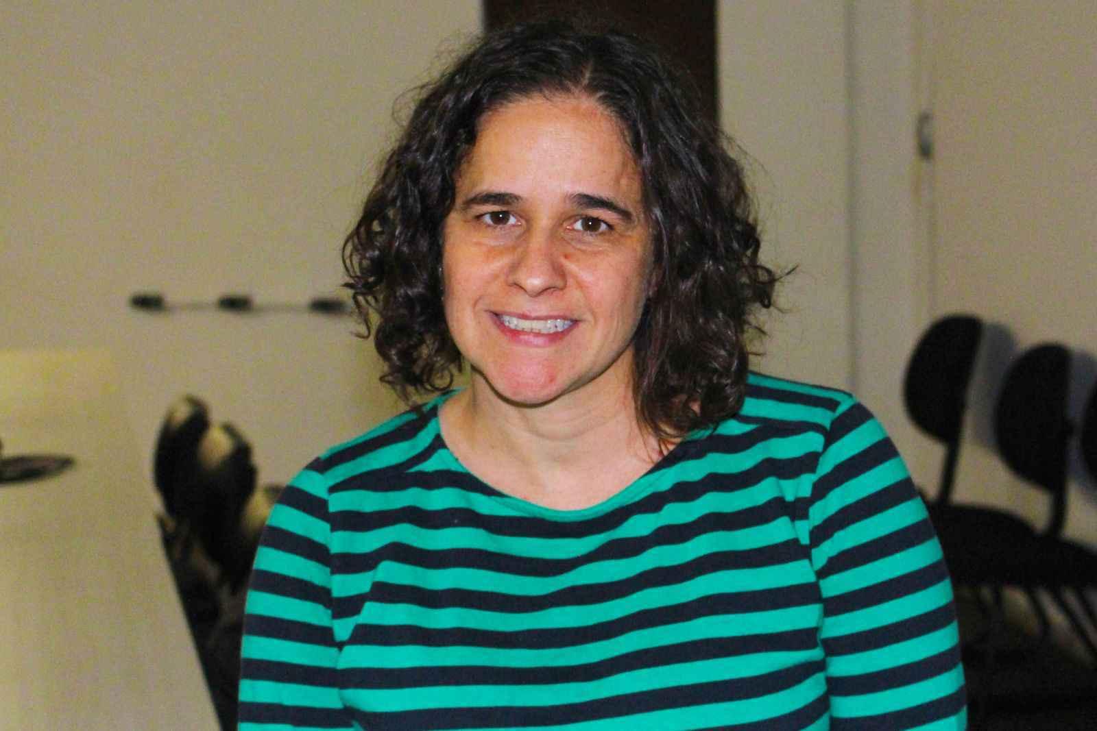 Professora Maria Luísa Magalhães Nogueira, do Departamento de Psicologia da UFMG