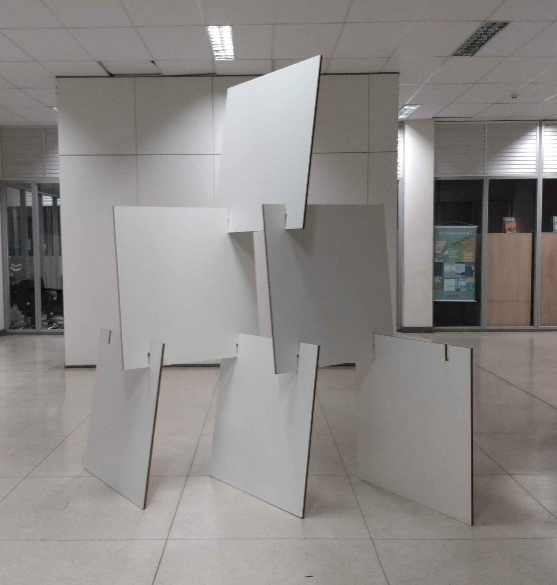 Na exposição