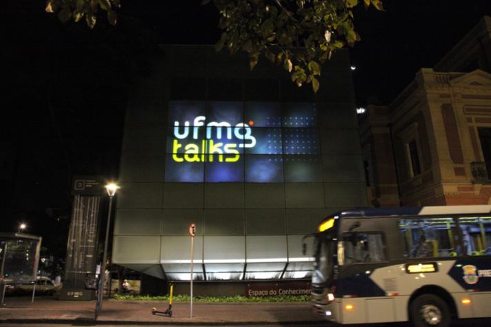 Fachada do Espaço do Conhecimento da UFMG