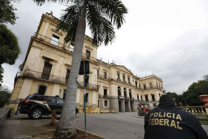 Museu Nacional no Rio de Janeiro