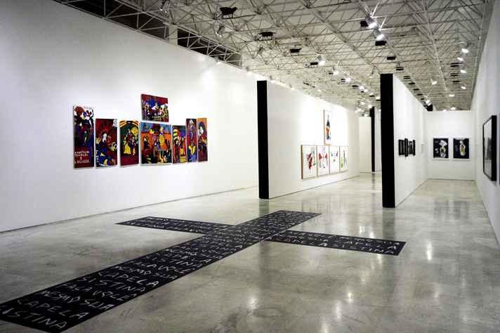 Exposição de Pedro Moraleida no Palácio das Artes: alvo de protestos