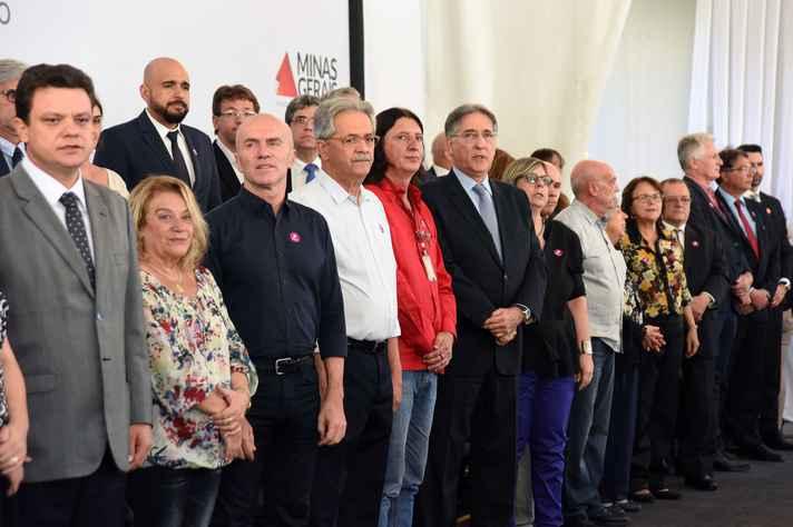 Cerimônia de lançamento do Memorial no Palácio da Liberdade