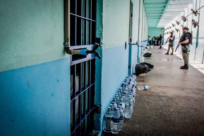 Agentes penitenciários representam a lei, a ordem e a segurança, segundo a pesquisadora