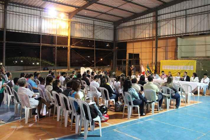 Audiência pública em Conceição do Mato Dentro, um dos municípios de atuação do Programa