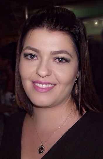 A pesquisadora Gilmara de Cássia Machado
