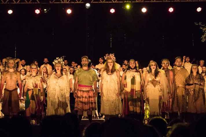 Apresentação da  Ópera Carmina Burana na 49° edição do Festival de Inverno da UFMG