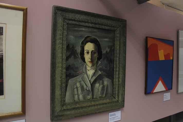 Retrato de Bela Betim Paes Leme pintado por Alberto da Veiga Guignard, em 1939