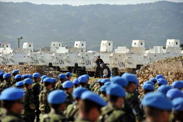 Missão das Nações Unidas para a Estabilização do Haiti