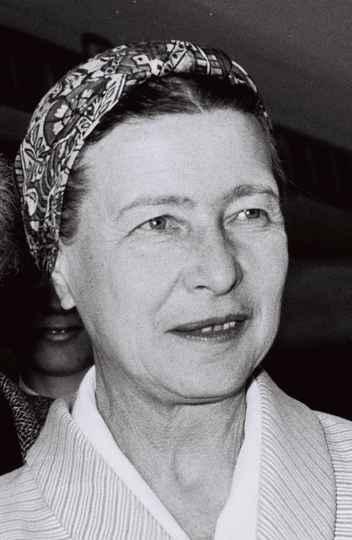 Simone de Beauvoir, em 1967
