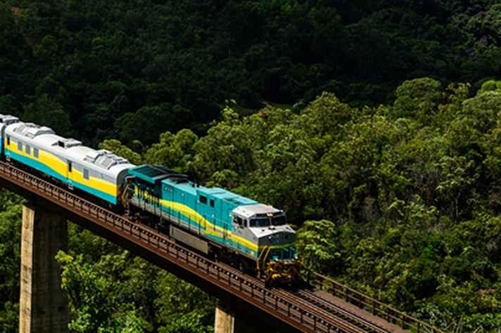 Trecho da Estrada de Ferro Vitória-Minas