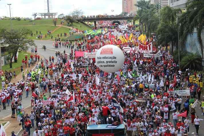 Entidades sugeriram realização de manifestações nas instituições de ensino