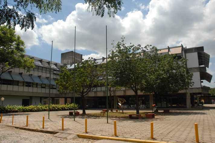 Vista parcial da Escola de Veterinária da UFMG
