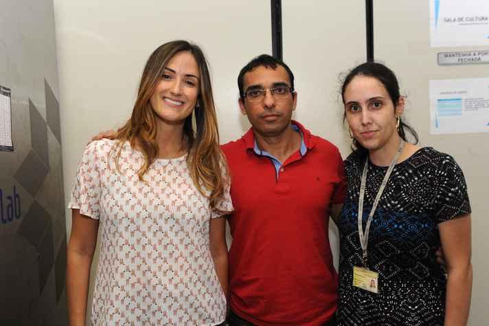 Samyra, Rodrigo e Fernanda: patentes e várias frentes de investigação