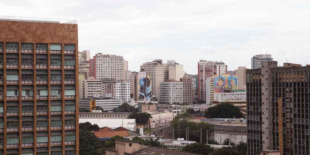 Vista de Belo Horizonte, uma das seis metrópoles que foram estudadas