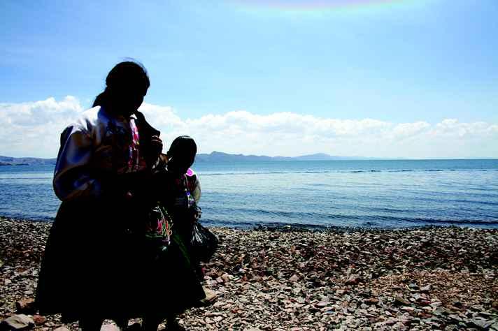 Mulheres Quéchua do Lago Titicaca, nos Andes: banco de dados é composto de informações de dois mil indivíduos