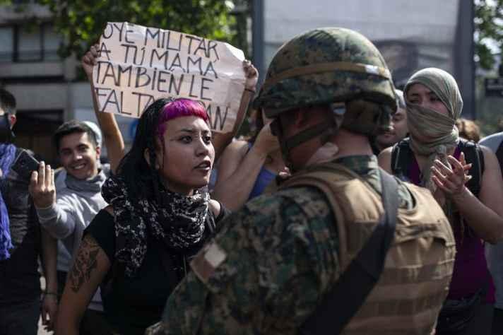 Chile enfrenta série de protestos populares
