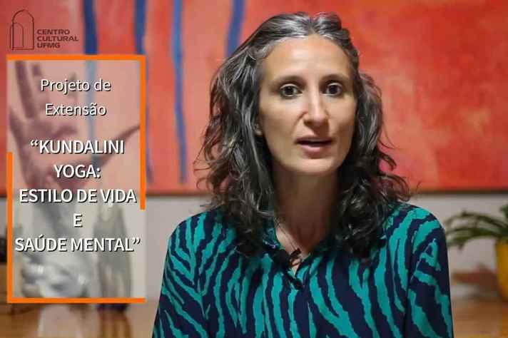 Renata Queiroz é medica psiquiatra, psicanalista, performer e professora de yoga