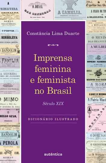 Capa do Livro Imprensa feminina e feminista no Brasil