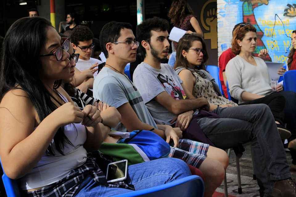 Atividade do Projeto Diverso, da Faculdade de Direito, com foco em direitos humanos