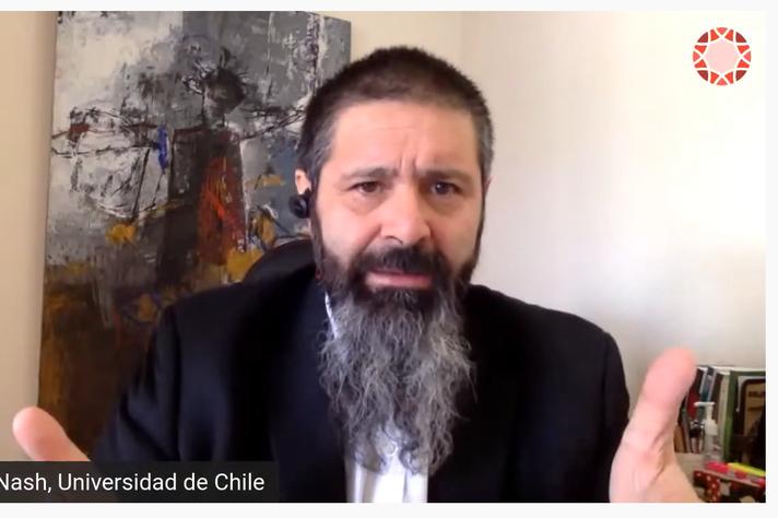 Cláudio Nash, da Universidade do Chile
