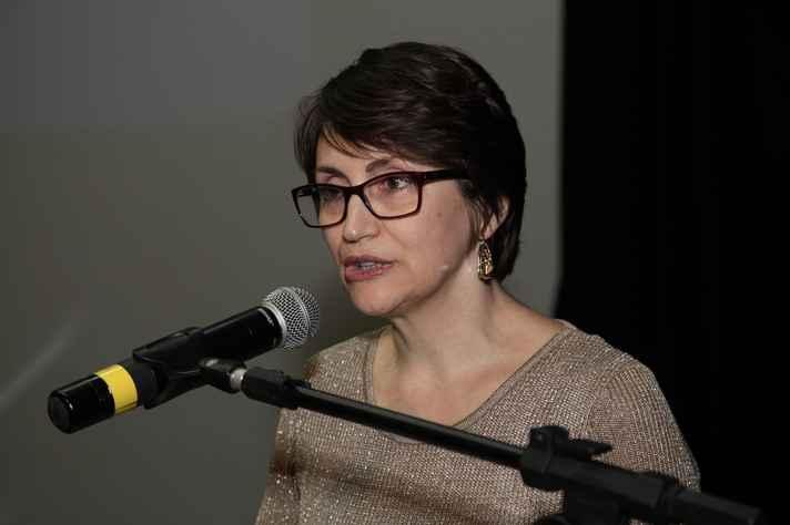 A pró-reitora de Pós-graduação da UFMG, Denise Maria Trombert de Oliveira