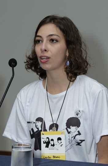 Laila Blanc Arabe, estudante que integra a comissão organizadora do congresso: discussão sem tabu