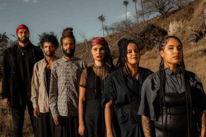 Artistas do Coletivo Imune, que se apresenta no encerramento do festival