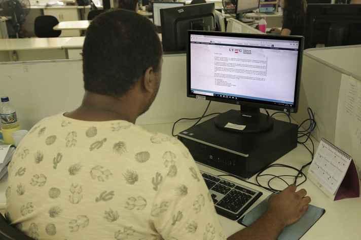 Formulários devem ser preenchidos no portal MinhaUFMG