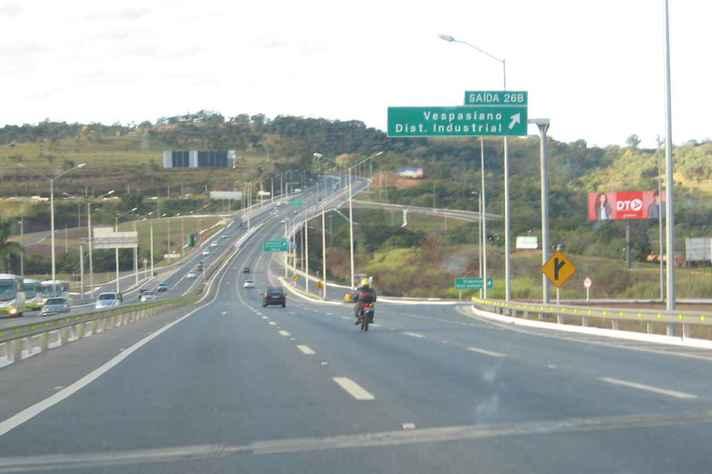 Linha verde, em BH, um dos acessos aos municípios do Vetor Norte