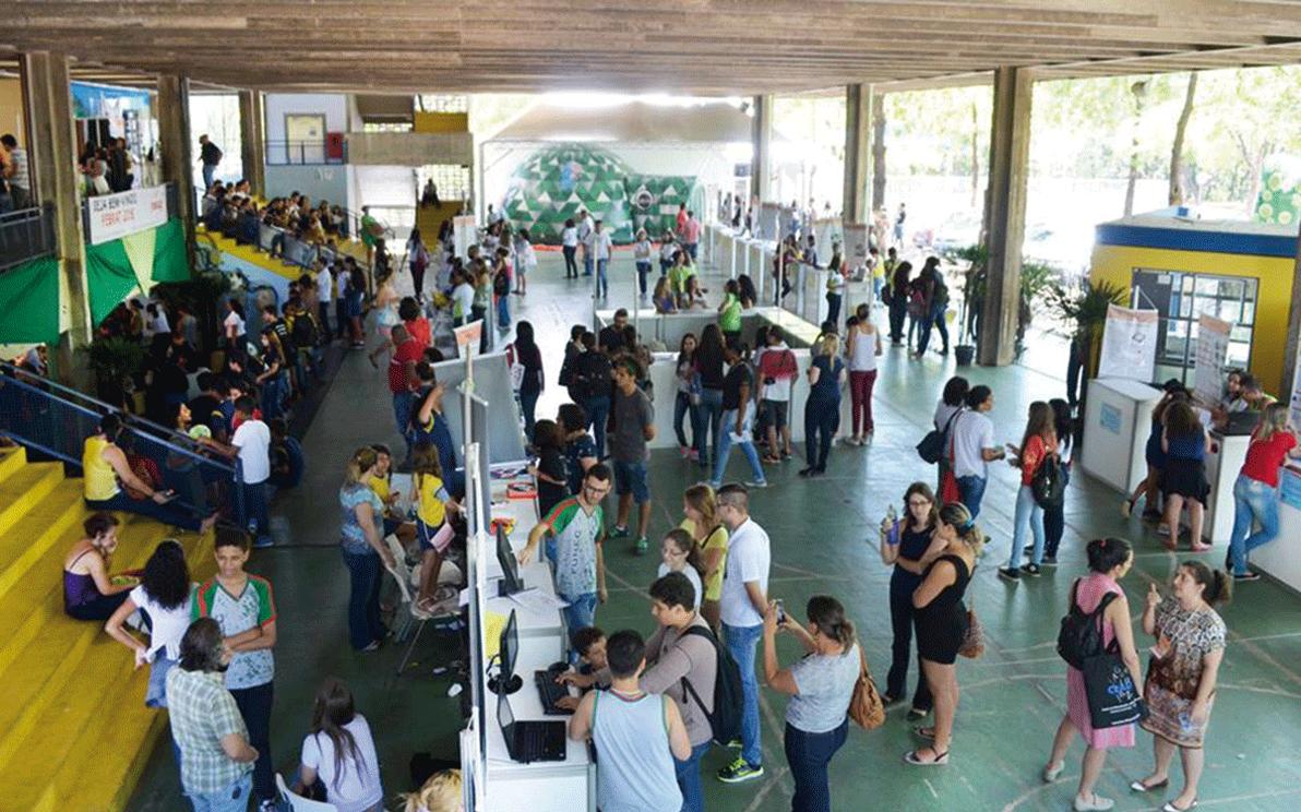 Feira foi realizada em outubro, no Centro Pedagógico