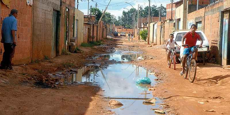 Falta de saneamento básico favorece o surgimento de epidemias