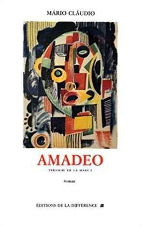 Capa de Amadeu, de Mário Cláudio, editado pela Différence