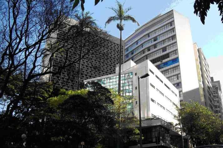 Prédio da Faculdade de Direito da UFMG, onde fica localizada a DAJ