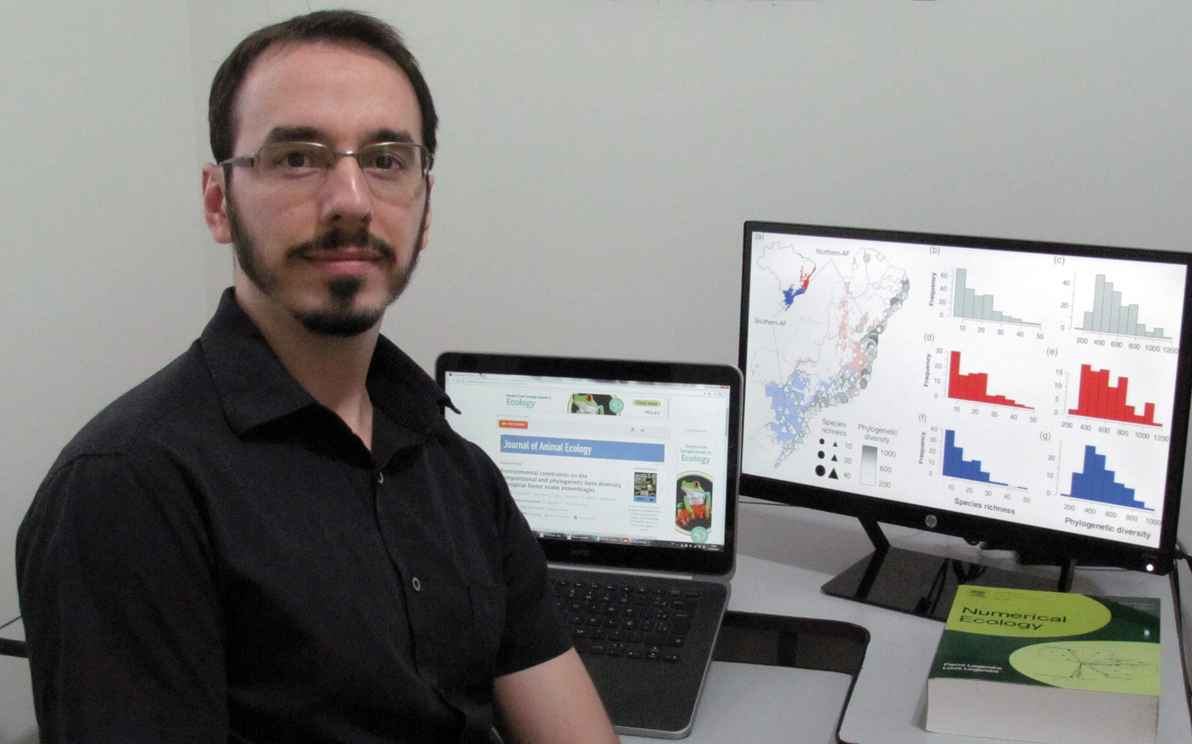 Mário de Moura: competição entre as espécies que habitam o norte da Mata Atlântica