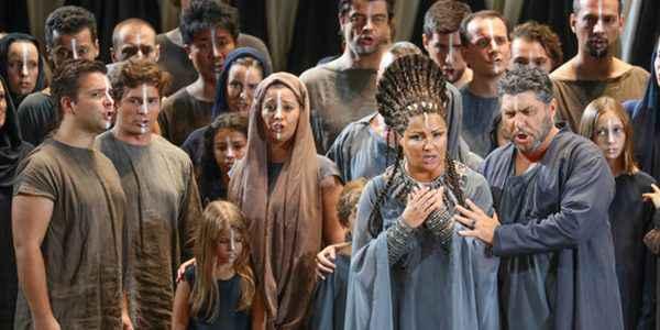 Cena da ópera Aída, de Giuseppe Verdi.