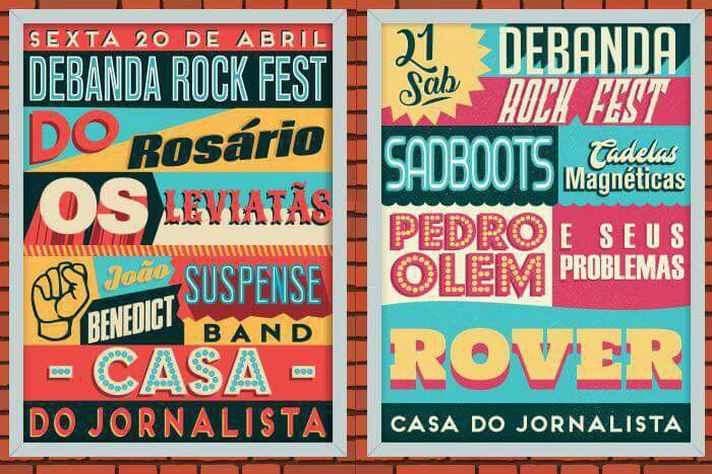 Festival Debanda Rock ocorre nesta sexta, 20, e sábado,21.