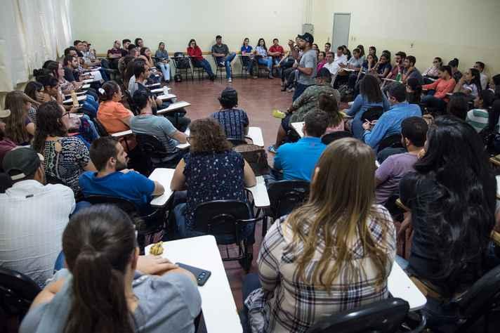 Participantes da roda de conversa compartilharam experiências