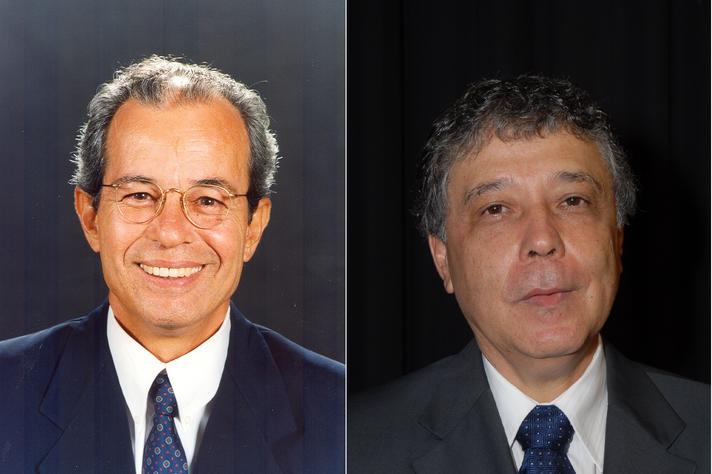 Professores Francisco César de Sá Barreto e José Francisco Soares