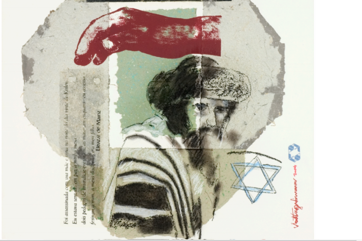 Arte presente na edição número 23 da revista; desde sua primeira edição em 2007 a revista é ilustrada por Vlad Eugen Poenaru, professor da Escola de Belas Artes (Eba UFMG)