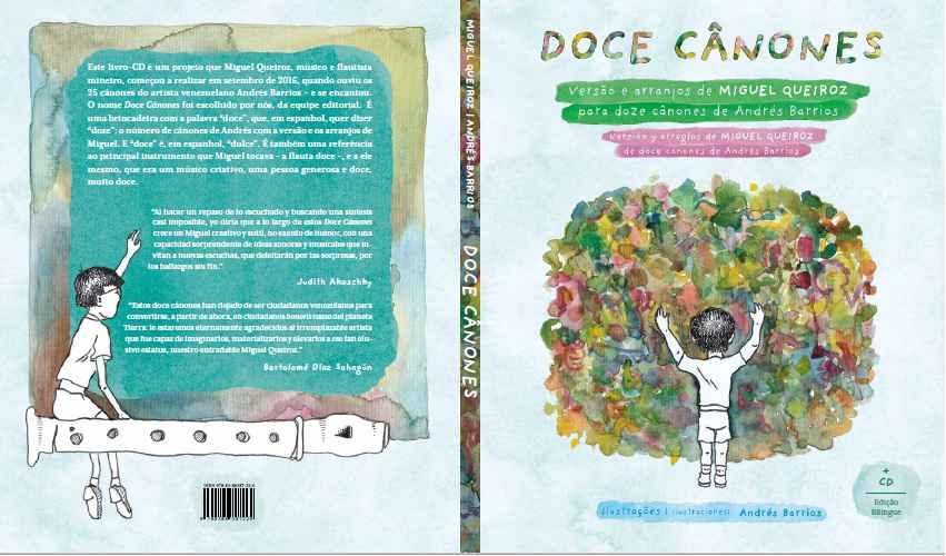 Capa do CD-Disco Doce Cânones