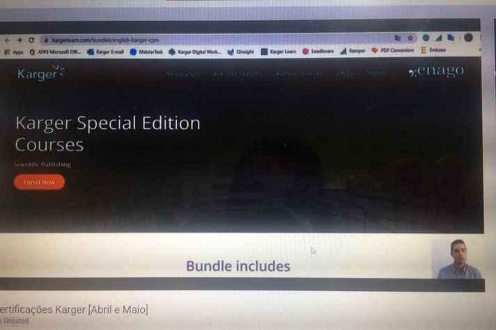 Imagem do vídeo da Editora que mostra o passo a passo para acesso aos seus conteúdos